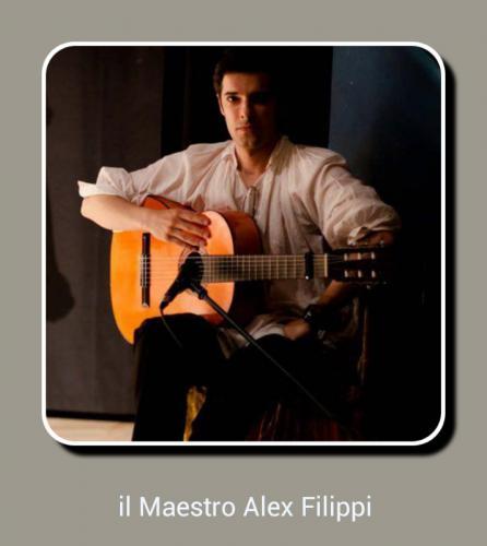 Maestro Alex Filippi, grande Amico. Di quelli veri.